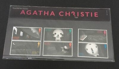 GB 2016 Agatha Christie Presentation Pack in Top Condition See Scan