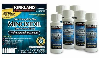 Kirkland Minoxidil 5% Extra Strength Men Hair Regrowth Solution