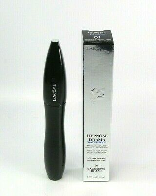 aae465ec950 Lancome Hypnose Drama Waterproof Mascara 01 Excessive Black 0.20 oz Brand  New