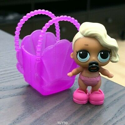 SHOES Bag & LOL Surprise LiL Sisters L.O.L. surfer babe doll toy SERIES 2 BJUS