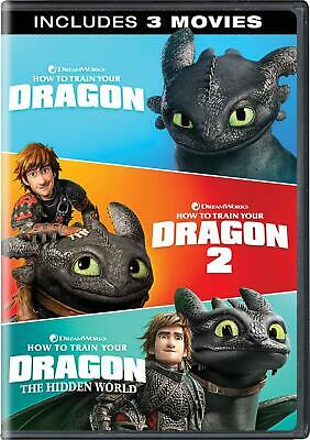 How To Train Your Dragon: 3-Movie Collection DVD