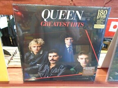de86b3a10 QUEEN Greatest Hits 2x LP NEW 180g vinyl [Freddie Mercury Gatefold Cover]