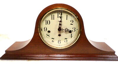 8 Day Mechanical Sligh Westminister Chime Mantle Clock--Needs Repair