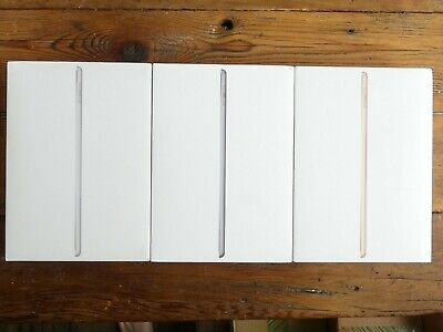 Apple iPad 5th & 6th Gen 32GB 128GB Silver Space Gray Gold Wi-Fi & Cellular