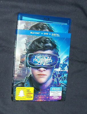 Ready Player One - Blu-Ray DVD Combo - with Slipcover