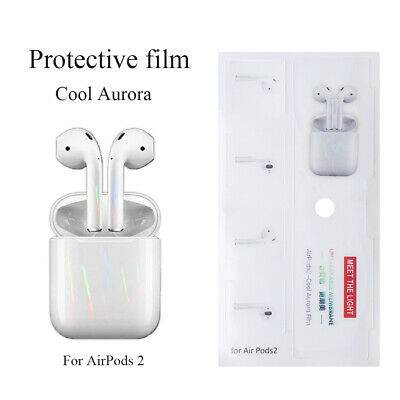 For AirPods Auroral Sticker Decor Decal Scratch Proof Films Protect Cover Skin