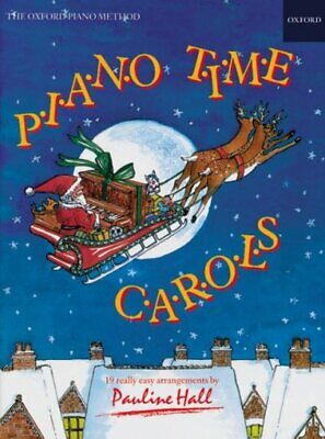 Piano Time Carols, Paperback by Hall, Pauline, Like New Used, Free P&P in the UK