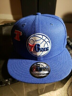 pretty nice a98da cc381 Philadelphia 76ers New Era 2018 NBA Draft Cap 59FIFTY Snapback Royal New