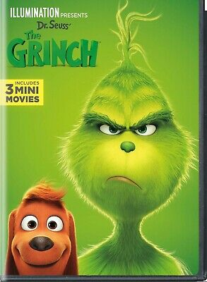 The Grinch 2018 DVD. Sealed with free delivery.