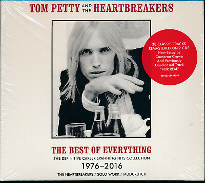 Tom Petty Heartbreakers Best of Everything 1976-2016 2-disc CD NEW Refugee