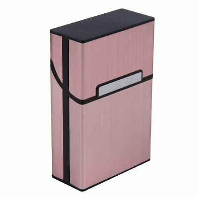 Light Cigarette Cigar Case Pocket Container Aluminum Tobacco Storage Holder RY