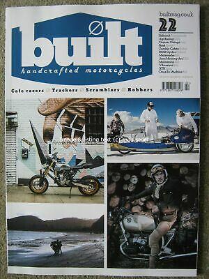 Built Handcrafted Motorcycles Issue 22 BMW rNineT Honda CBX1000 Triumph Big Horn
