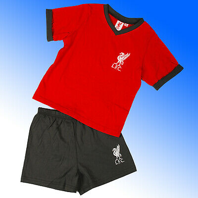 Boys Official Liverpool FC Short Pyjamas #LFC  Age 3-12 Years