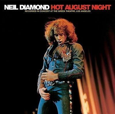 Neil Diamond 40th Anniversary Hot August Night deluxe edition CD NEW