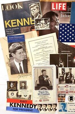 Starter Collection of John F Kennedy Souvenirs & Collectibles