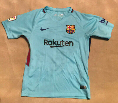9c6daf61d NIKE BARCELONA HOME Shirt 2017 2018 Junior Size XL Boys - £1.04 ...