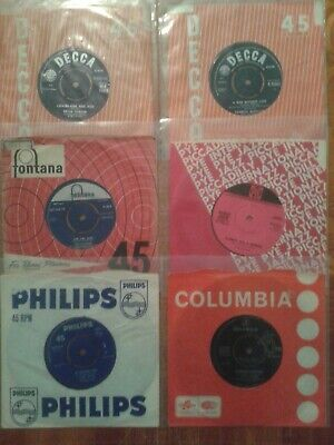 """Job Lot X 18 Eurovision Song Contest 7"""" Singles*****All Listed*****"""