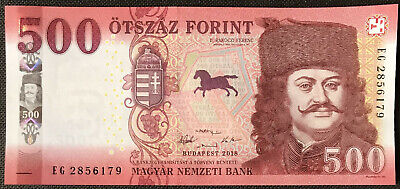 Hungary NEW - 500 Forint 2018 - UNC