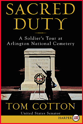 Sacred Duty: A Soldier's Tour at Arlington National Cemetery Brand New Free Ship