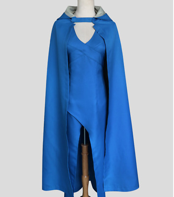 Cosplay Cape Mother Of Dragons Two Pieces Suit Dress Hoodie Hallowmas New Yoooc