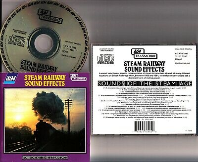 STEAM TRAIN SOUND Effects CD By Steam to Victor Harbor