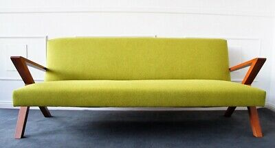 Mid Century Space Age Bauhaus Danish Design Sofa Daybed Wohn Couch 60er Lounge