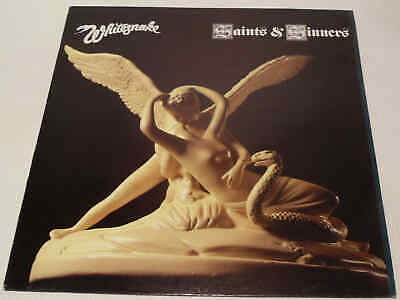 Whitesnake - Saints & Sinners 1982 UK Liberty LBG 30354 Vinyl LP Album