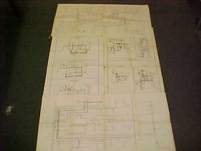 1978 original cadillac deville coupe electrical wiring vacuum diagram 78  lot 4