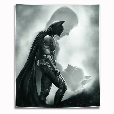 Batman Figures HD Canvas prints Painting Home decor Picture Room Wall art Poster