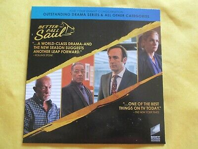 Outlander Better Call Saul 2019 NEW DVD Drama Series TV SHOW EMMY FYC SCREENER