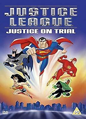 Justice League: Justice On Trial [DVD] [2004], , Used; Good DVD