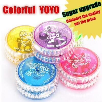 5PCS Kids Flashing LED Glow YOYO Toys Party Light Up Funny Yo-Yo Play Toys Gifts
