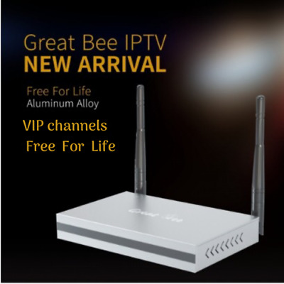 Great Bee Arabic TV IPTV Box 2019 Supports 400+ Arabic Channels Free For Life!