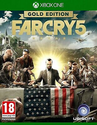 Far Cry 5 Gold Edition (Xbox One) [NO CD KEY/ LEGGERE LA DESCRIZIONE]