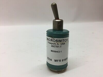 Microswitch 26ET61-T Honeywell Toggle Switch