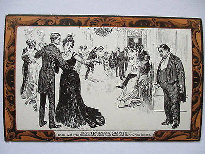 Pictorial Comedy Postcard, Gibson´S Drawings No. 43 about 1910 (36888)