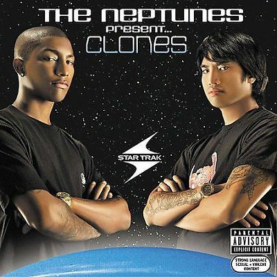 The Neptunes Present Clones 2003 Star Trak CD plus limited edtion DVD