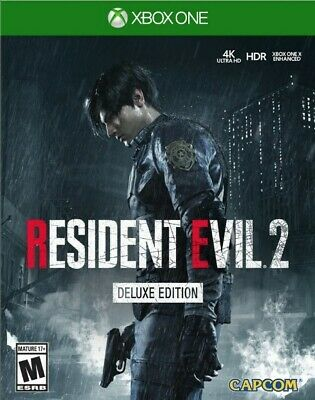 Resident Evil 2 Remastered deluxe edition Xbox (download/leggi la descrizione)