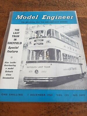 Vintage Model Engineer Magazine 1 Dec 1960