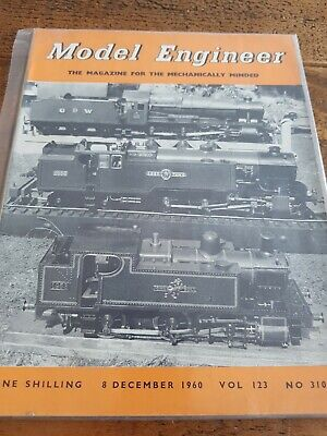 Vintage Model Engineer Magazine 8 Dec 1960