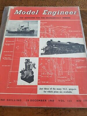 Vintage Model Engineer Magazine 18 Dec 1960