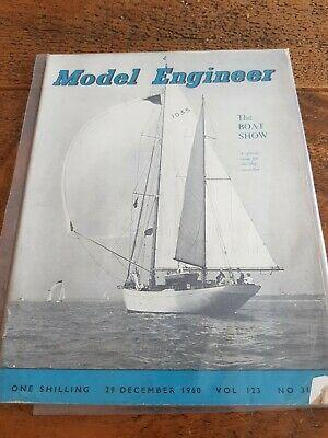 Vintage Model Engineer Magazine 29 Dec 1960