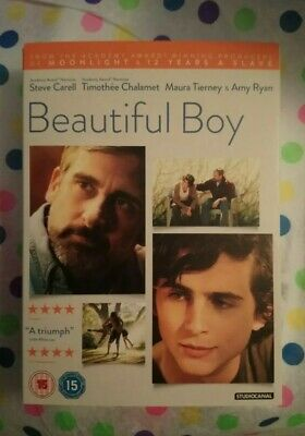 Beautiful Boy Dvd Steve Carell Timothee Chalamet Dvd Once Played Excellent