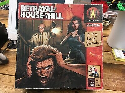 Betrayal At House On The Hill Boardgame 1St Edition
