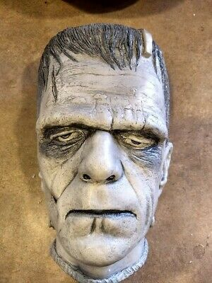Frankenstein Life Mask with Certificate of AuthenticityLIMITED EDITION 177/1000