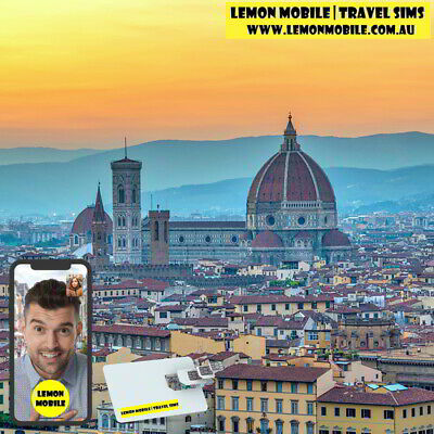 UK + Europe 38-in-1 Travel SIM Card |14 Days 8/20GB data| Unlimited local calls