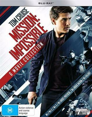 Mission Impossible | 6 Movie Franchise Pack - Blu Ray Region B Free Shipping!