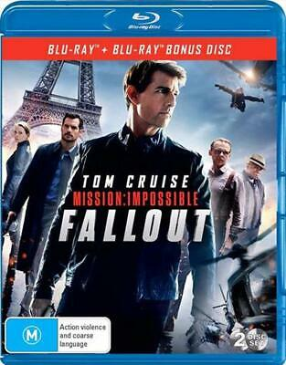 Mission Impossible - Fallout - Blu Ray Region B Free Shipping!