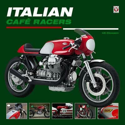 Italian Cafe Racers by Uli Cloesen (English) Hardcover Book Free Shipping!