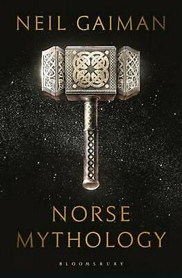Norse Mythology by Neil Gaiman (English) Paperback Book Free Shipping!
